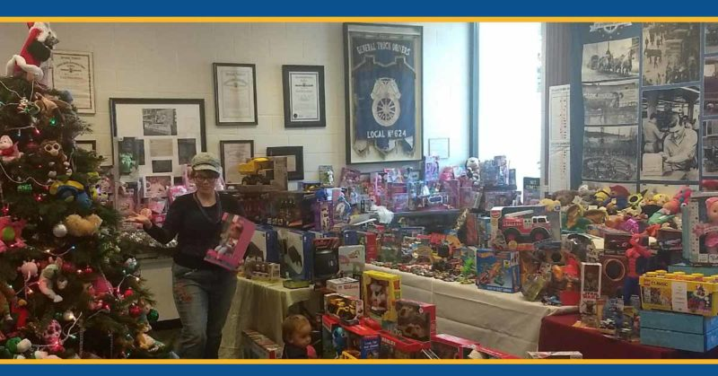 Toy Drive dedicated to children of north bay fires