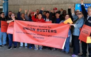 San Francisco International Airport Union Rally