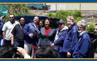 London Breed supports Labor Union 665