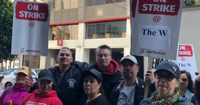 Marriott Hotel Strike