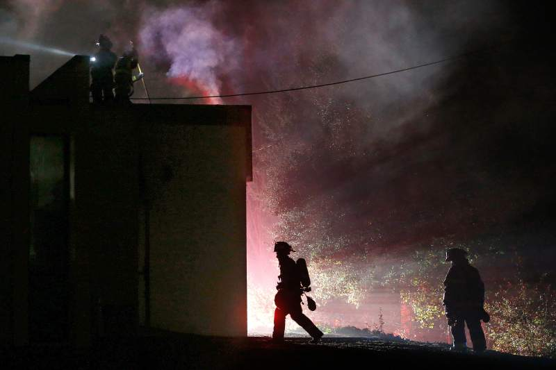 Teamster 665 North Union Hall Fire1 - Teamsters Local 665