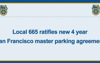 Master Parking Agreement for SF